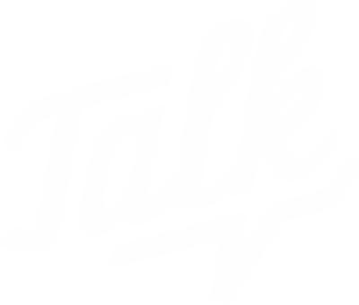 简约欧美设计TALK字母
