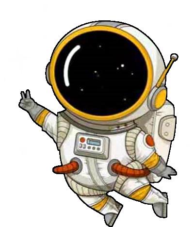 宇航员系列之剪刀手