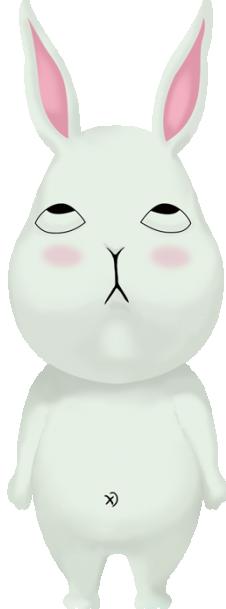 爱翻白眼的白眼兔