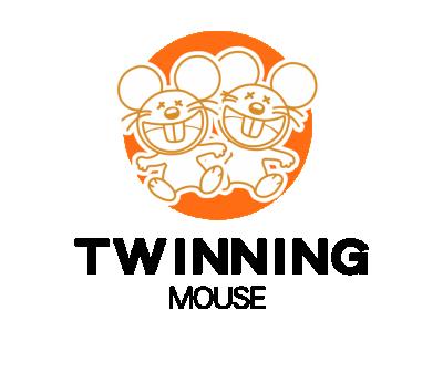 2020创意设计鼠年系列之双胞胎老鼠